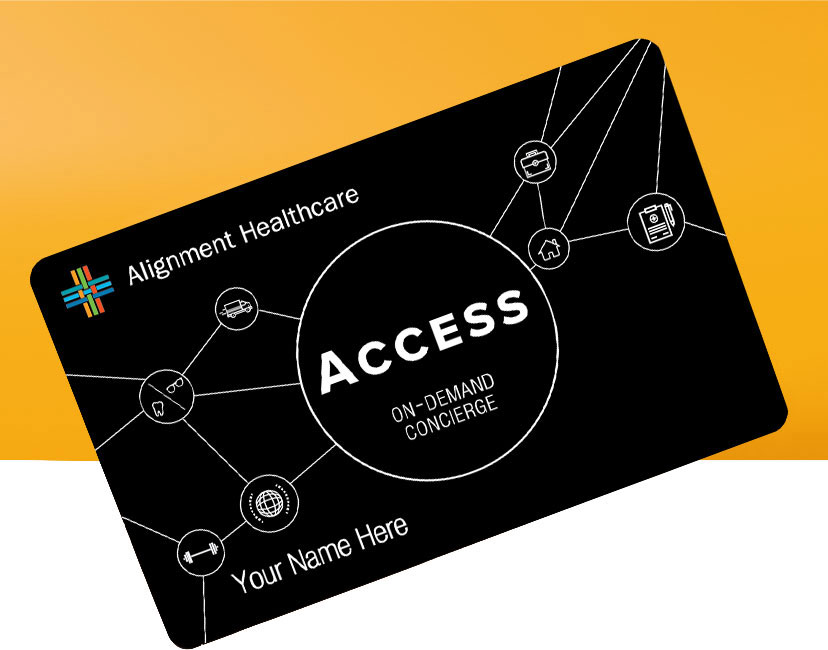 Access On-Demand Concierge Card